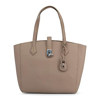 Trussardi Original Women All Year Shopping Bag - Brown Color 48955