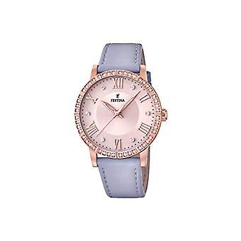 Festina montre analogique quartz femme avec l'acier inoxydable bracelet F20414/1