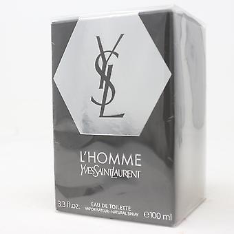 L'homme von Yves Saint Laurent Eau De Toilette 3.3oz/100ml Spray Neu mit Box