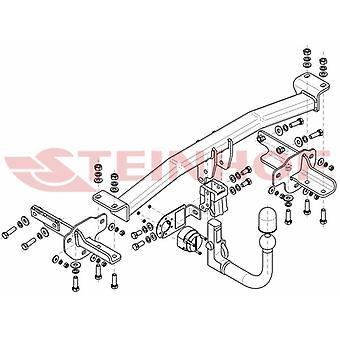 Steinhof automatico mowbar staccabile (verticale) per Fiat CI 4 porte 2015-2020