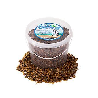 Pupe de vers à soie chubby séché de 5 litres