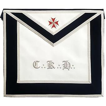Masonic scottish rite leather apron - aasr - 30th degree - knight kadosch