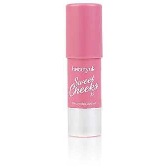 Beauty UK Sweet Cheeks No.5 Raspberry Ripple 6g