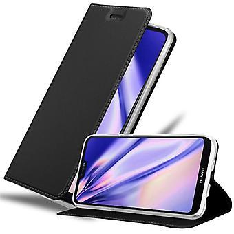 حالة كادورابو لغطاء حالة حالة Huawei P20 LITE - حالة الهاتف مع المشبك المغناطيسي ، وظيفة الوقوف ومقصورة البطاقة - حالة حالة حالة واقية من الغطاء القابلة للطي
