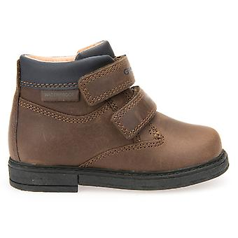 Geox jongens sprankje B640VA waterdichte laarzen Brown