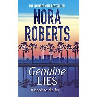 Genuine Lies by Nora Roberts - 9780349408026 Book