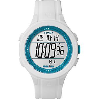 Timex unisex TW5M14800-Erwachsenen-Uhr mit Quarzwerk, schwarzes Zifferblatt und schwarzem Kunstharz Riemen