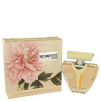 Armaf Momento Fleur Eau De Parfum Spray By Armaf 3.4 oz Eau De Parfum Spray