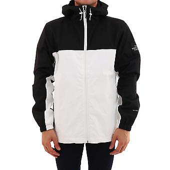 The North Face T0cr3qfv3 Men's White/black Polyester Outerwear Jacket
