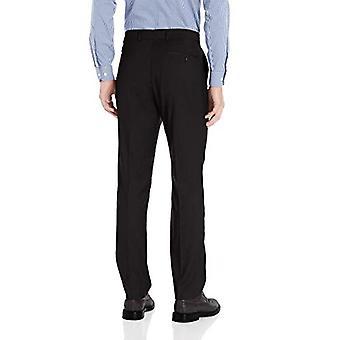 Dockers Men's Signature Slim Fit Dress Pant with Stretch, Black, 30x32