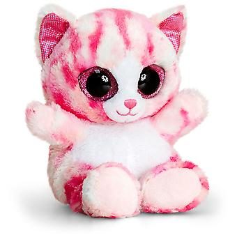 Keel Toys Animotsu Pink Cat