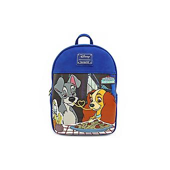Loungefly x disney lady & the tramp mini backpack