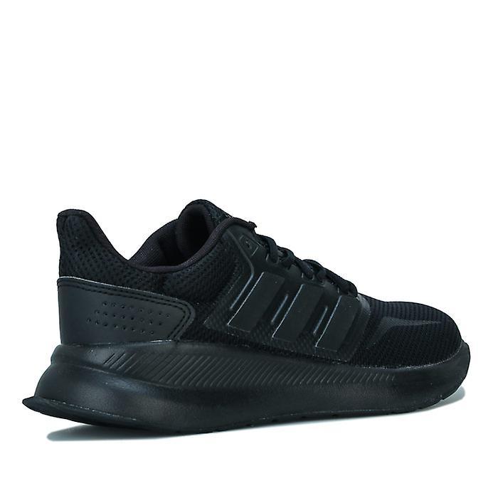 Women's Adidas Runfalcon Running Shoes In Black
