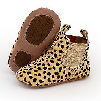 SKEANIE pre-Walker vauva & taapero Ratsastus Saappaat leopardi