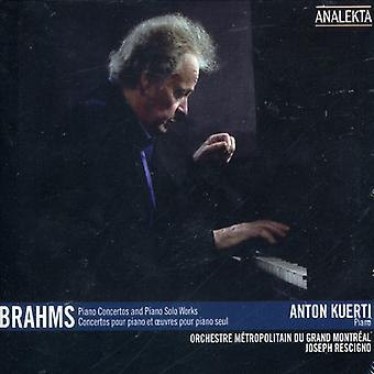 Piano Concertos & Piano Solo [CD] USA import