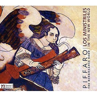 Fernandes/Padilla/Cabezon/Ortiz/Aranes/Blasco/Capi - Los Ministriles in the New World [CD] USA import