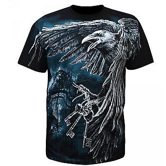 Aquila - cemetery keys - mens t-shirt