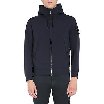 Stone Island 7315q0122v0020 Homme-apos;s Blue Polyester Sweatshirt