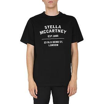 Stella Mccartney 601849smp861000 Heren's Zwart Katoen T-shirt