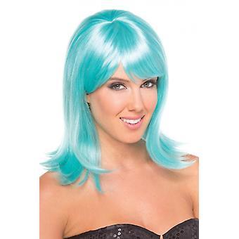 Doll Wig - Aqua