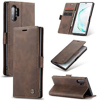 Samsung Note 20 Ultra Case Brown - Retro Wallet Slim
