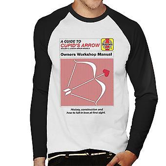 Haynes Cupids Arrow Owners Workshop Manual Men's Baseball Long Sleeved T-Shirt