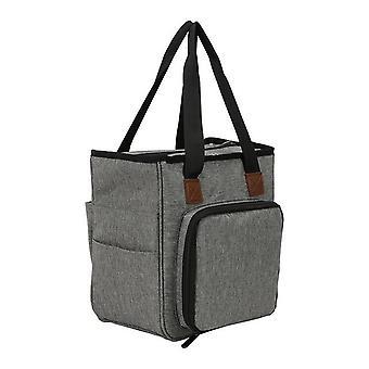 Přenosné příze Tote Skladovací taška pro vlně háčky háčky pletací jehly šití