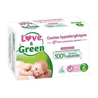 Love & Green Couches hypoallergà © niques T2 x36 36 units
