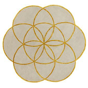 Lotus Rugs In Gold