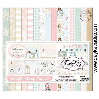 DayKa Trade Mi Primera Comunión Niña 12x12 Inch Paper Pack 2019