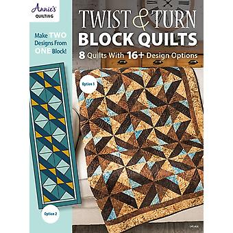 Twist  Turn Block Quilts by Quilting & Annies