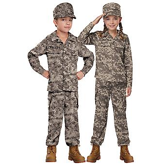 Soldier Army Military Seal Team Camouflage Commando Book Week Boys Costume