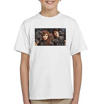 Dune Paul Atreides & Lady Jessica Shot Kid's T-Shirt