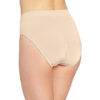 Wacoal vrouwen ' s B-Smooth Hi-cut panty, natuurlijk naakt, 2x
