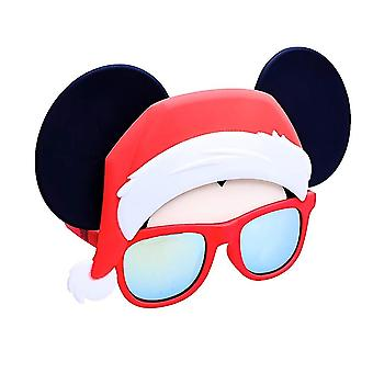 Party Costumes - Sun-Staches - Red Mickey Santa Cosplay sg3252