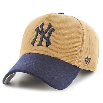 47 Brand Adjustable Cap - MVP KORD New York Yankees khaki