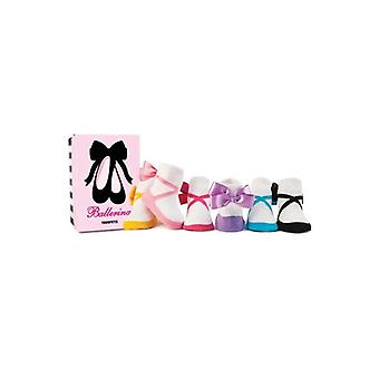 Socks - Trumpette - Ballerina Baby Accessories 0-12 Mos Set Of 6