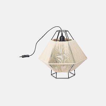 Leds-C4 Legato - Floor Lamp Black Beige 1x E27