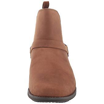Teva Womens De La Vinia Leather Closed Toe Ankle Fashion Boots