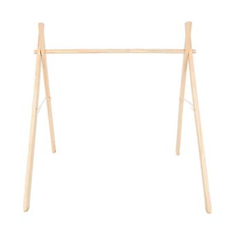 Simple Wooden Fitness Rack For Room Decorations - Baby Play Gym Activity
