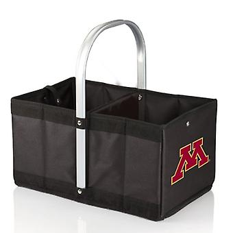 Urban Basket - Black (University Of Minnesota Golden Gophers) Digital Print