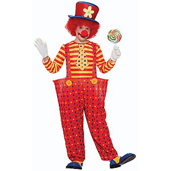 Hoopie Clown Circus Polka Dot Kleid jungen Kostüm