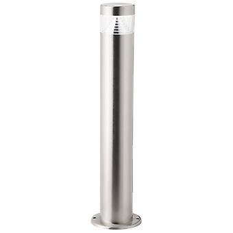 BRILLIANT Lampe Avon LED Udendørs base lampe 50cm rustfrit stål | 1x 6W LED integreret (SMD), (180lm, 6500K) | Skaler A++ til