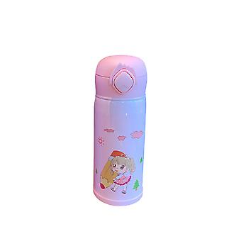 Children's cartoon cute insulated cup, portable and can be used for hot and cold drinks