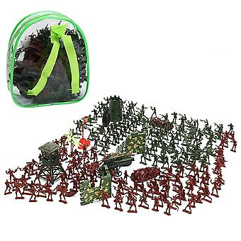 238pcs Static Army, Mini Military Figures Tanks, Soldier Model Set