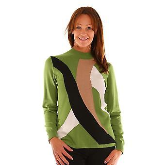 LEBEK Lebek Green Of Navy Sweater 2027