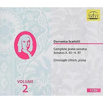 Scarlatti: Komplett Piano Sonatas Sonatas Volume 2 [CD] USA import