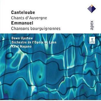 Canteloube/Emmanuel - Canteloube: Chants D'Auvergne; Emmanuel: Chansons Bourguiguonnes [CD] USA Import