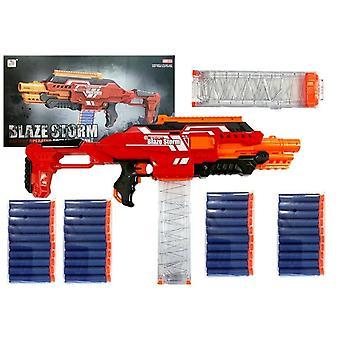 NERF Gun Pistol Blaze Storm med 40 skumpilar - 20 st magasin