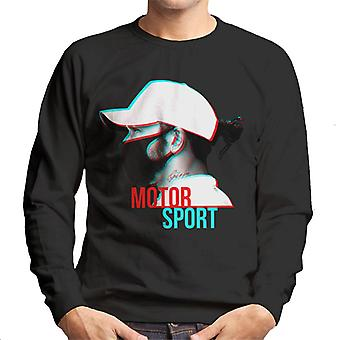 Motorsport Images Lewis Hamilton Side Shot Men's Sweatshirt